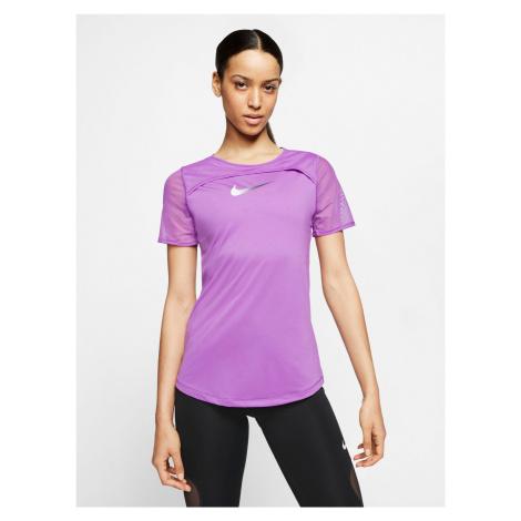 Running Runway Triko Nike Fialová