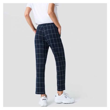 Modré kostkované kalhoty NA-KD