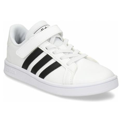 Dětské černobílé tenisky Adidas
