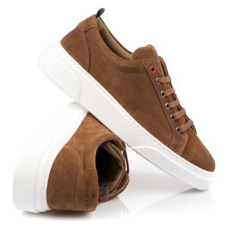 Tenisky Manuel Ritz Shoes - Hnědá