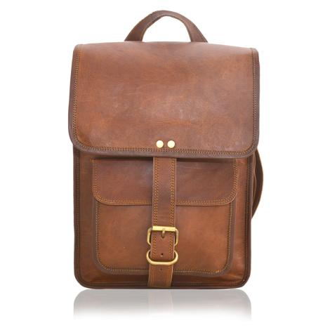 Kožený batoh Themis