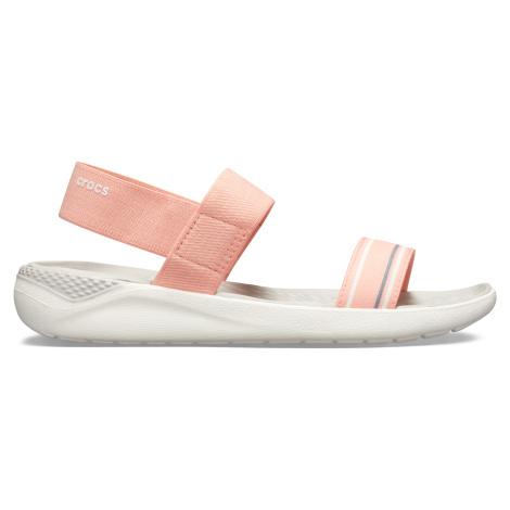 Crocs LiteRide Sandal W Melon/White W7