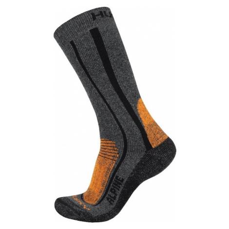 Husky Alpine oranžová, Ponožky