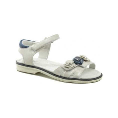 Wojtylko 5S2420 stříbrné dívčí sandálky Stříbrná