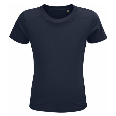 SOLS Dětské triko CRUSADER KIDS 03580319 Námořní modrá SOL'S