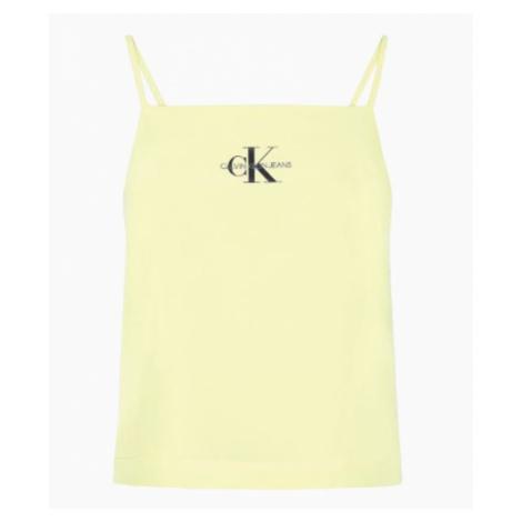 Calvin Klein Calvin Klein dámský žlutý top Mimosa Yellow