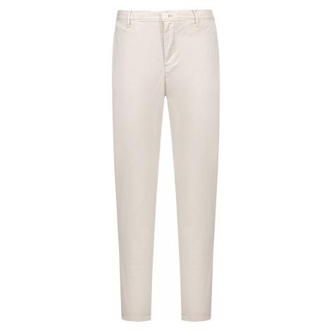 Kalhoty Alberto ROB-DS BROKEN TWILL béžová