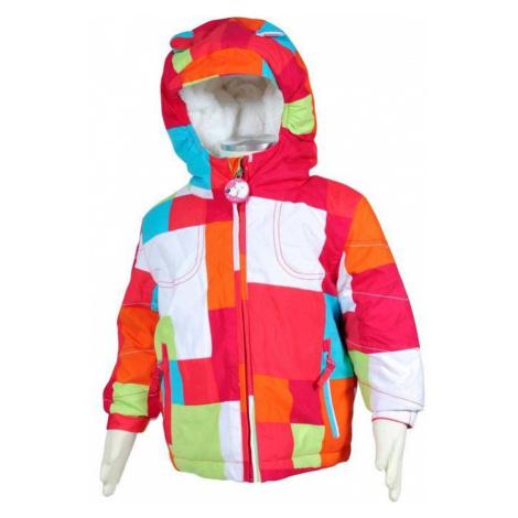 bunda dívčí zimní, Bugga, PD911, růžová