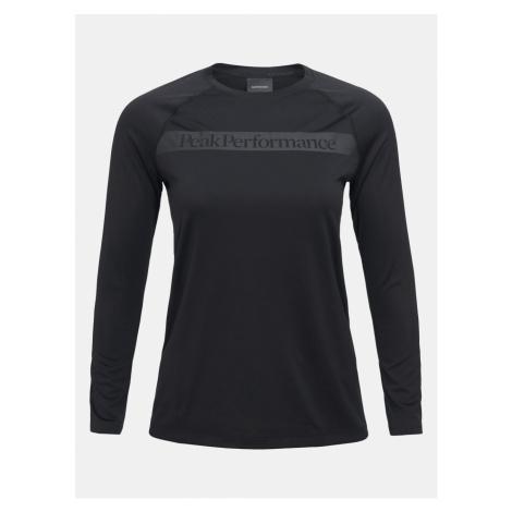 Tričko Peak Performance W Pro Co2 Long Sleeve - Černá