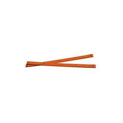 LIŠTY PIG WHEELS NEONRAILS - oranžová