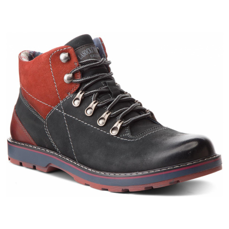 Turistická obuv LASOCKI FOR MEN - MI07-A355-A206-01 Granatowy 2