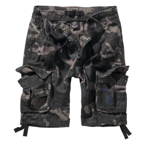 Brandit Kalhoty krátké Pure Vintage Shorts darkcamo