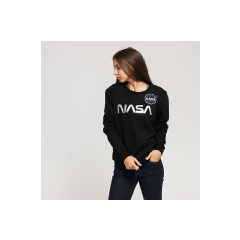 Alpha Industries NASA PM Sweater Wmn černá / stříbrná