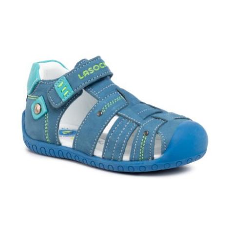 Sandály Lasocki Kids CI12-FLEXY-06 Přírodní kůže (useň) - Nubuk