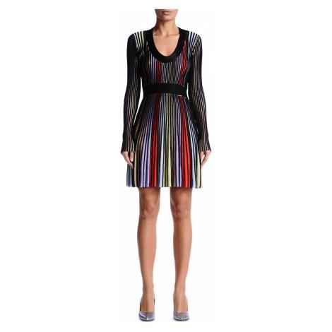 Vícebarevné šaty JUST CAVALLI