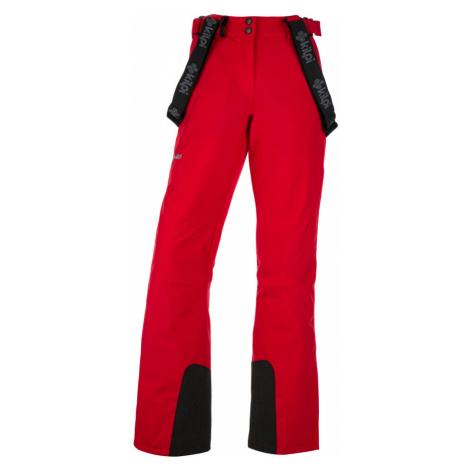 KILPI Dámské lyžařské kalhoty ELARE-W JL0011KIRED Červená