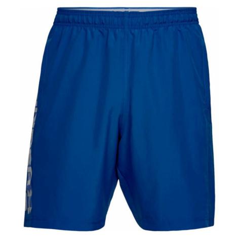 Under Armour Woven Wordmark Shorts Pánské sportovní šortky 1320203-400 Royal