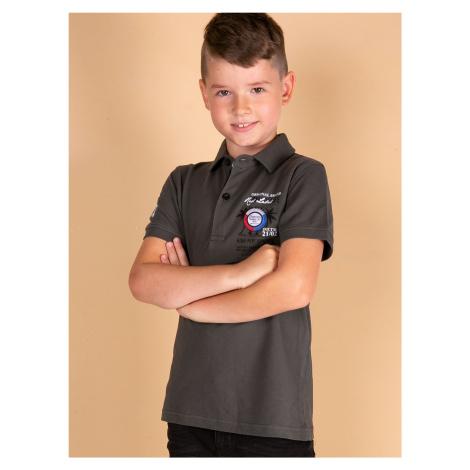 Khaki polokošile pro chlapce TOMMY LIFE