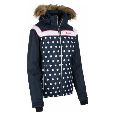 Dámská zimní bunda KILPI BABU-W tmavě modrá