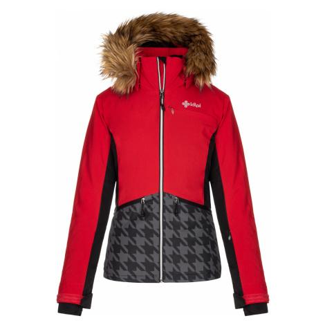 KILPI Dámská lyžařská bunda - větší velikosti TESSA-W LLX042KIRED Červená