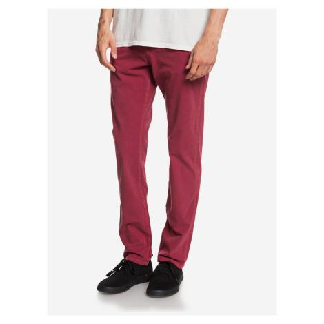 Krandy 5 Kalhoty Quiksilver Červená