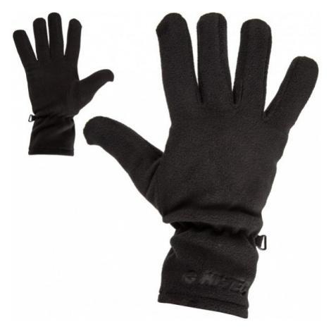 Hi-Tec SALMO FLEECE černá - Pánské rukavice