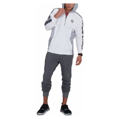 Under Armour Threadborne Terry Jogger Pánské tepláky 1310577-019 Charcoal Medium Heather