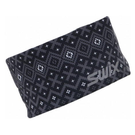Swix MYRENE černá - Designová sportovní čelenka