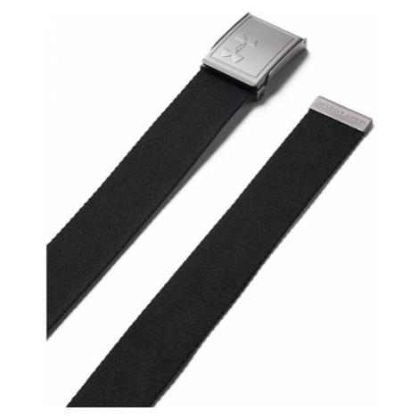 Under Armour Webbing 2.0 Belt Pánský oboustranný pásek 1305487-002 Black UNI