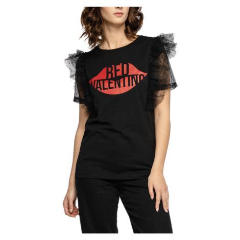 Černé tričko - RED VALENTINO