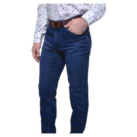 Modré jeansy Alain Delon