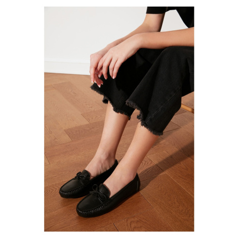 Trendyol Women's Loafer Shoes with Black Bows