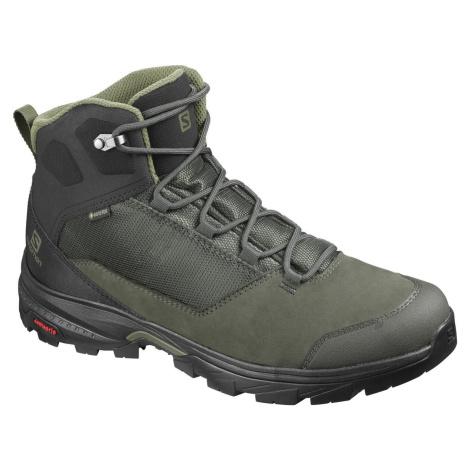 boty Salomon Outward Gtx černá/zelená
