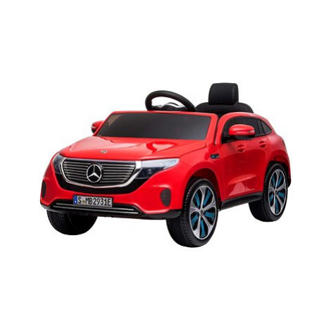 Mercedes-Benz EQC, červené Beneo