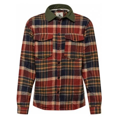 Anerkjendt Košile tmavě zelená / modrá / ohnivá červená / žlutá