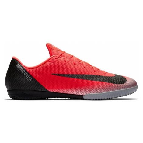 Sálovky CR7 VaporX 12 Academy IC Černá / Červená Nike