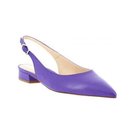 Leonardo Shoes 138 NAPPA VIOLET Fialová