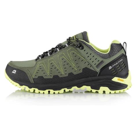 Outdoorová obuv Alpine Pro CHEFORNAK - tmavě zelená