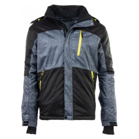 ALPINE PRO PERIDOT 3 černá - Pánská lyžařská bunda