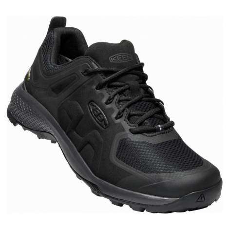 KEEN EXPLORE WP M Pánská nízká treková obuv 10008878KEN01 black/magnet