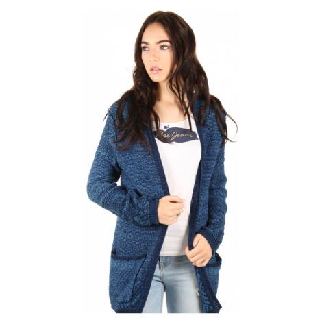 Pepe Jeans dámský modrý žíhaný přehoz