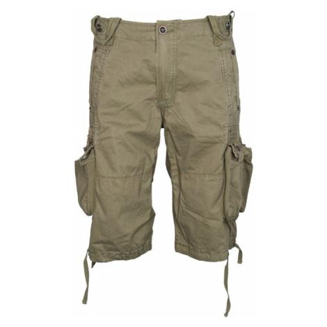 Alpha Industries Kalhoty krátké TERMINAL olivové