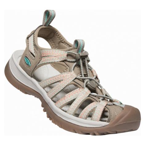 Dámské sandály Keen Whisper W taupe/coral UK