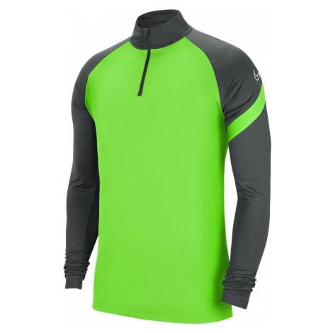 Tréninkové tričko Nike Academy Drill Top Zelená / Černá