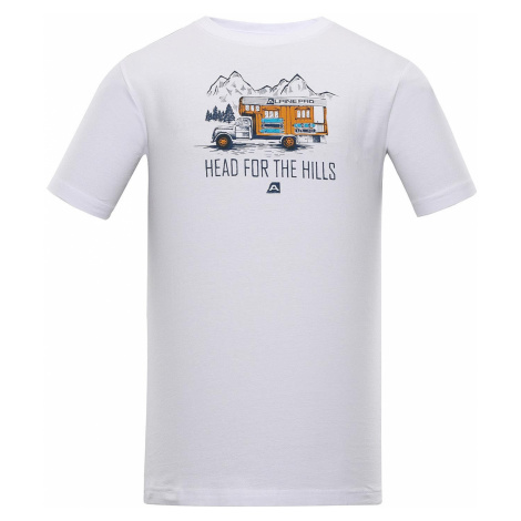 Pánské triko Alpine Pro GREUS - bílá