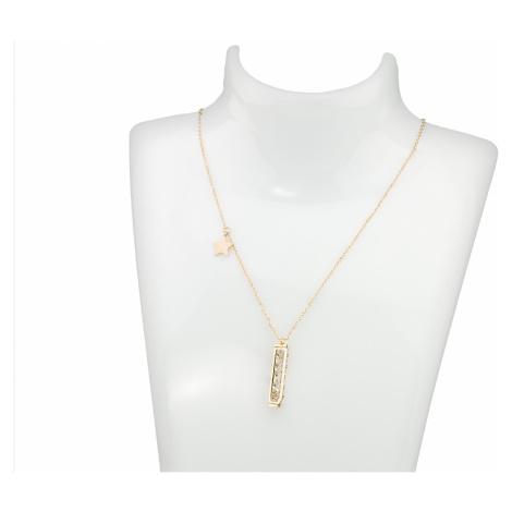Linda's Jewelry Náhrdelník se zirkony Orionův pás chirurgická ocel INH012