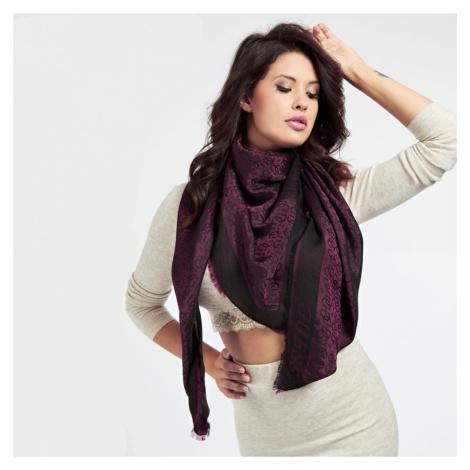 Guess dámský vínový šátek