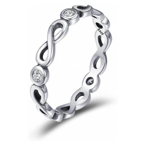 Linda's Jewelry Stříbrný prsten Simple Nekonečno IPR043 Velikost: 55