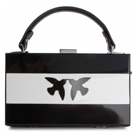 Černobílá kabelka PINKO