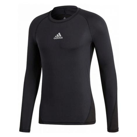 Dětské funkční tričko adidas AlphaSkin Černá / Bílá